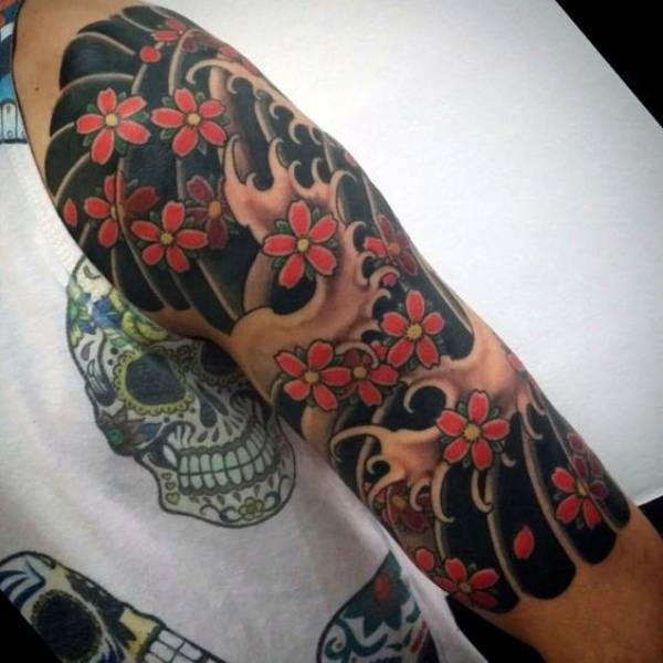 Japanese Tattoos Forearm