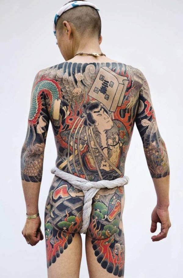Japanese Tattoos Yakuza