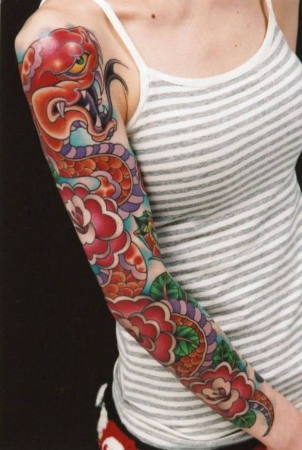 Japanese Themed Tattoos