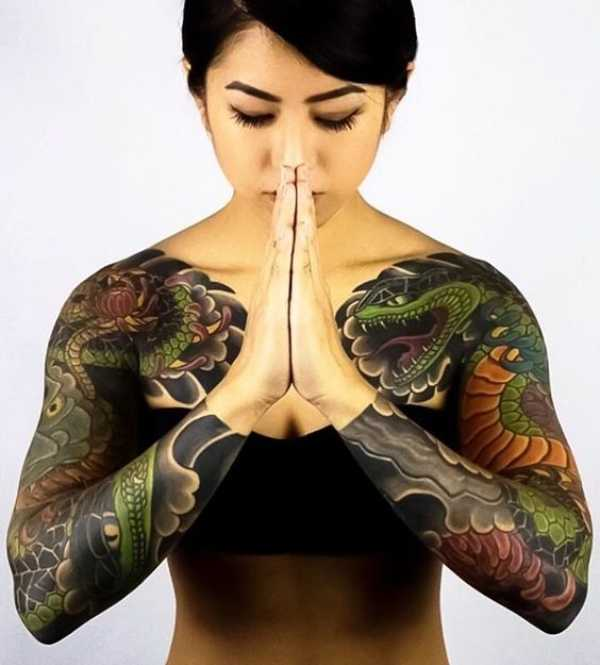 Japanese Traditional Tattoos