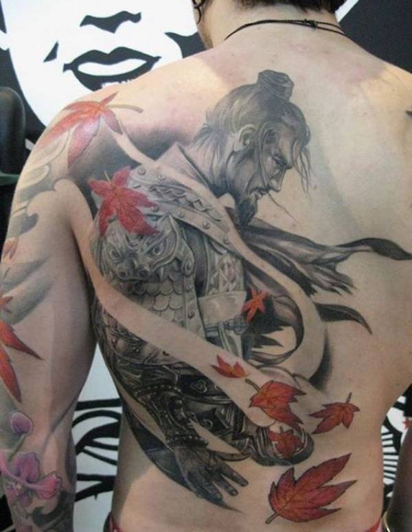 Japanese Warrior Tattoos