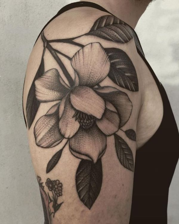 Big Flower Tattoos