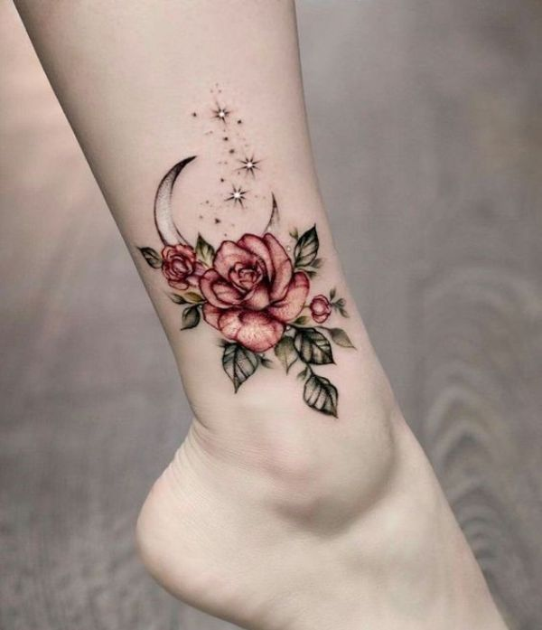 Cute Flower Tattoos