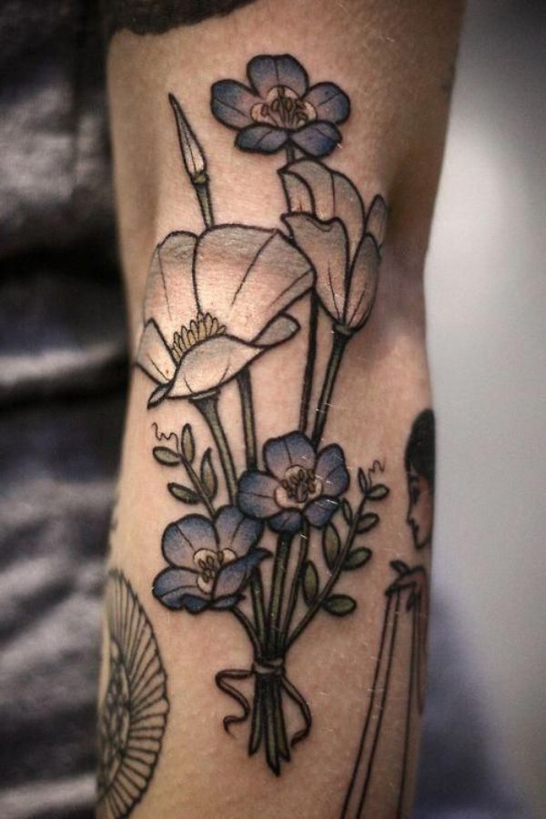 Images Of Flower Tattoos