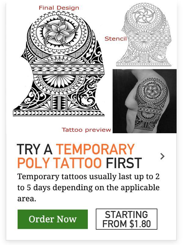 temporary poly ideas tattoo