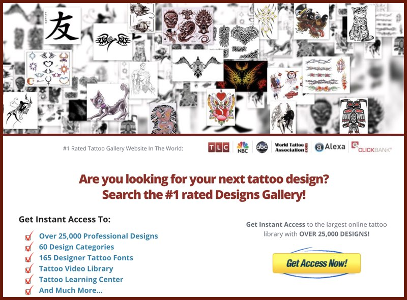 tattoo designs gallery library