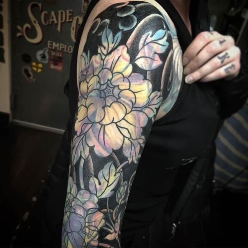 sleeve for tattoo cover up